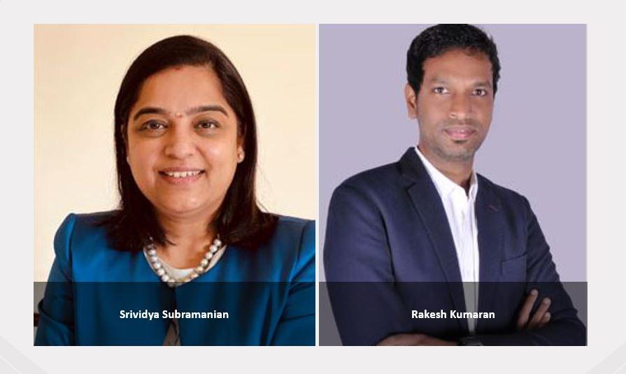 Traydstream strengthens presence in the MENAT and India region with new hires – Srividya Subramanian and Rakesh Kumaran